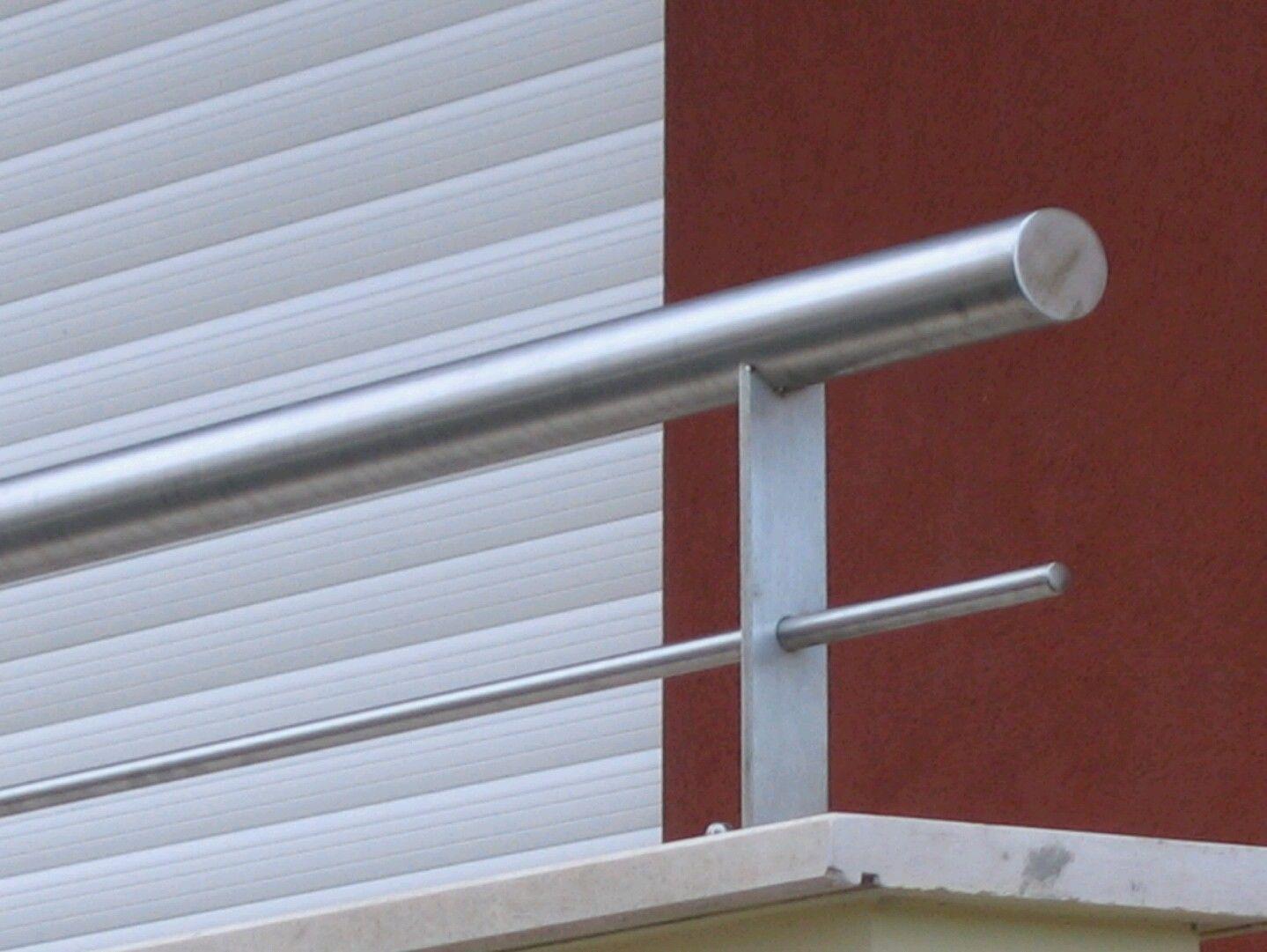 Altezza Dei Parapetti parapetto in acciaio inox altezza 25 cm · e-commerce inoxlm